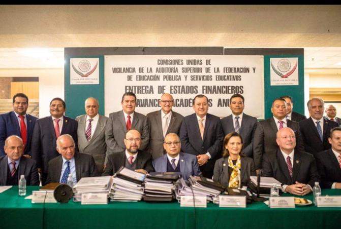 Entrega UJAT estados financieros auditados ante Cámara de Diputados