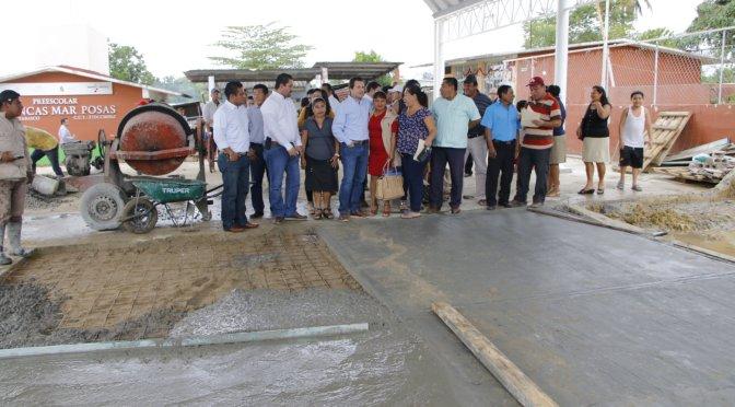 Habitantes de zona indígena siguen constatando beneficios en gobierno de Gaudiano