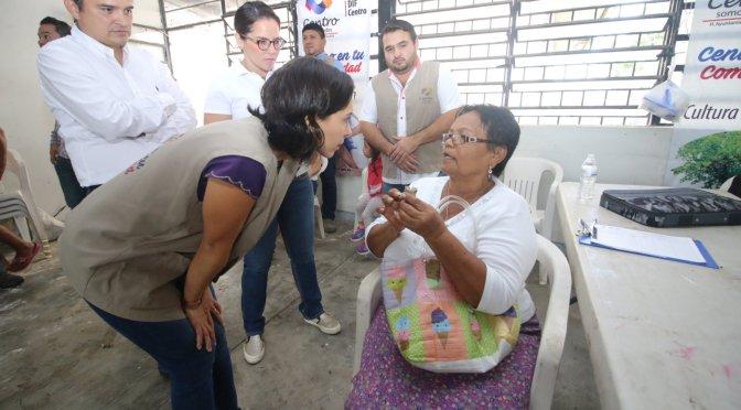 En titánica tarea, llegóCentro en tu comunidada 265 mil atenciones en gobierno de Gaudiano