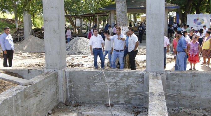 Apoya Centro al sectorSan Josécon la construcción de Casa Cultural en Gaviotas Sur