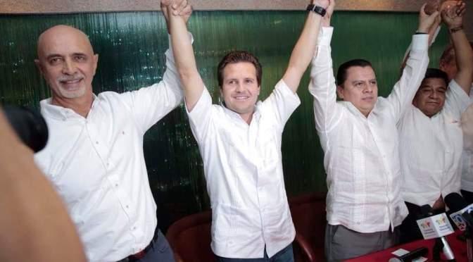 Es Gerardo Gaudiano candidato del PRD al gobierno de Tabasco