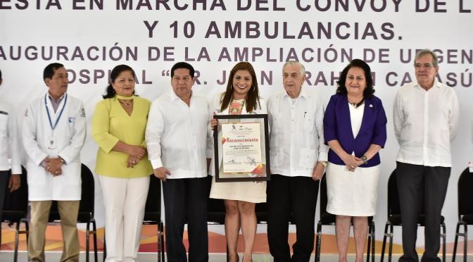 Activa el Gobernador Arturo Núñez  Convoy de la Salud