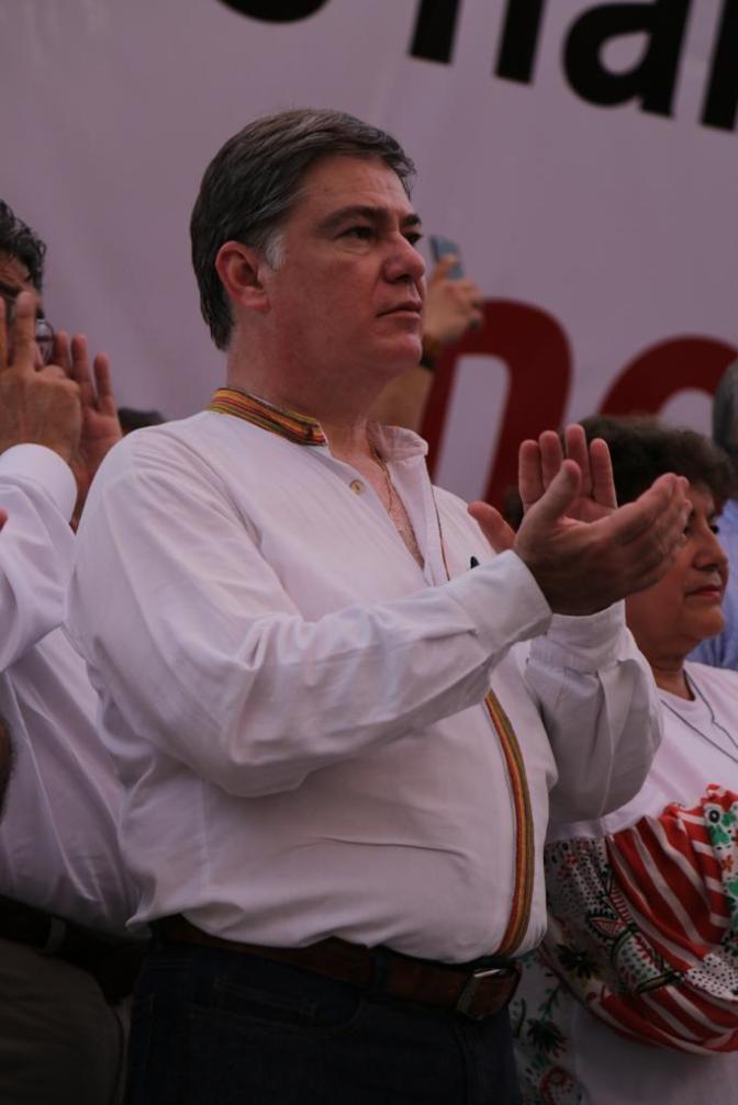No voy por cargos a MORENA: Fernando Mayans