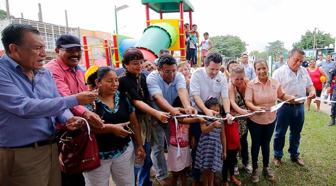 Revitaliza Gaudiano parque olvidado en colonia Indeco