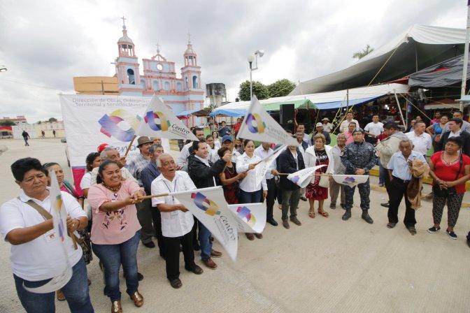 Lleva Gaudiano obras a Villa Ocuiltzapotlán por más de 10 millones de pesos