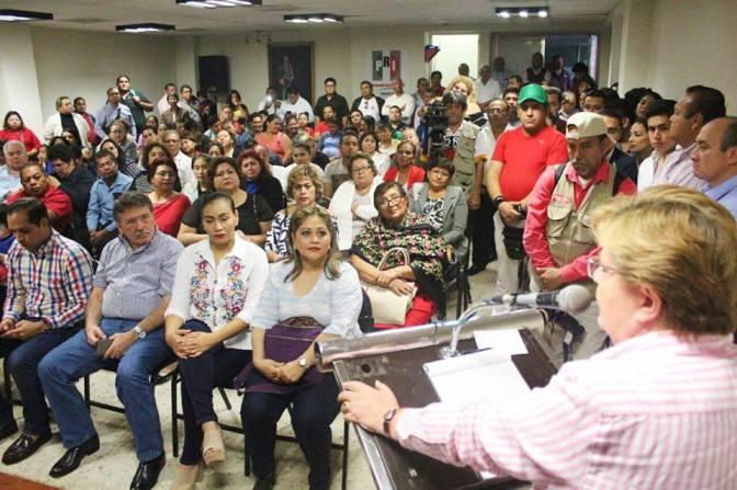Priistas, ansiosos de ir a la batalla electoral: Gina