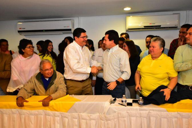 En unidad, junto a Gerardo Gaudiano vamos a ganar: José Antonio de la Vega
