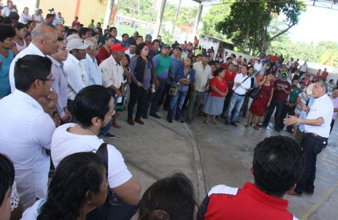 A seguir juntos construyendo la unidadde Tabasco, exhorta Adán Augusto