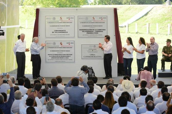 Dará EPN 'oxígeno' a la economía de Tabasco, a solicitud del gobernador Núñez