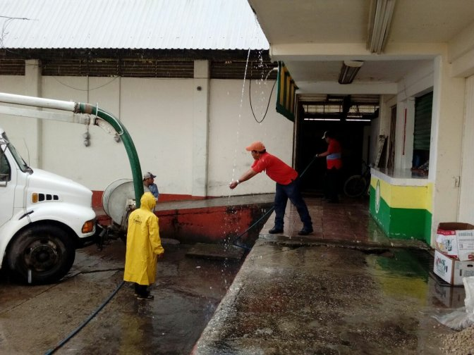 Intensifica CEAS desazolve de drenajes