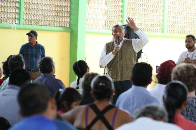 Con una sociedad participativa daremos nuevo impulso a Tabasco: Adán Augusto