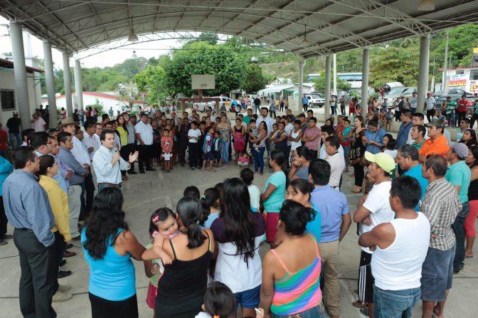 Llevó Gaudiano su mensaje de unidad al perredismo en Tacotalpa