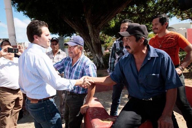 Ir al encuentro de la gente para atender sus problemas, propone Gerardo Gaudiano