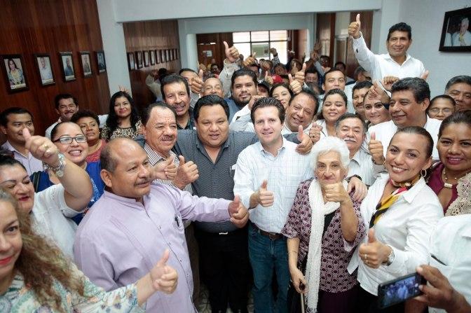 Gerardo Gaudiano se reúne con la Agrupación Política José Ma. Pino Suárez
