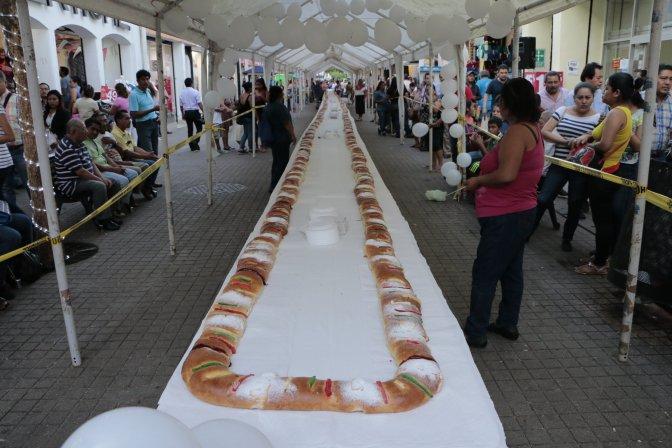 Invita Centro a disfrutar de Rosca de Reyes en la Zona Luz el sábado 6 de enero