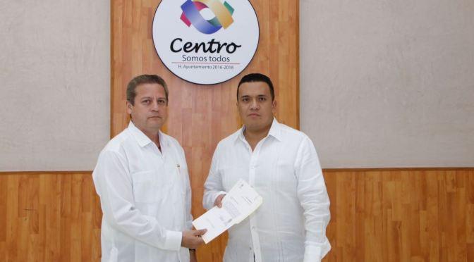 Designan nuevo director de Obras del Ayuntamiento de Centro