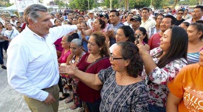 Impulsará Adán Augusto programas  para beneficiar comunidades