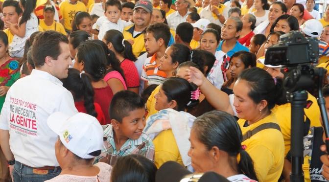 Fuerte fomento a la actividad agrícola en Huimanguillo, plantea Gerardo Gaudiano