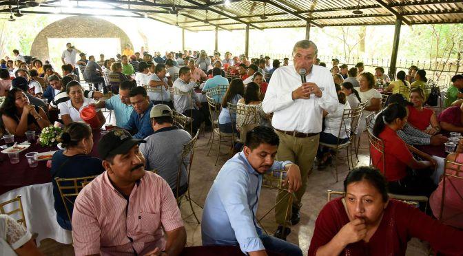 Servidores públicos serán aliados de Morena para reconciliación