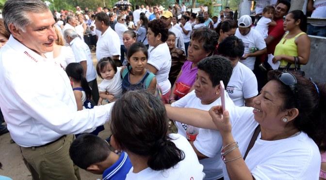 En la reconciliación Tabasco conseguirá la paz social: Adán Augusto