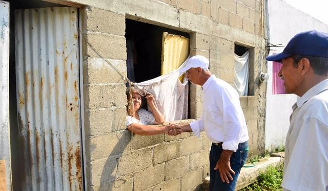 Mejoraremos la calidad de vida en Centro: Mier y Terán