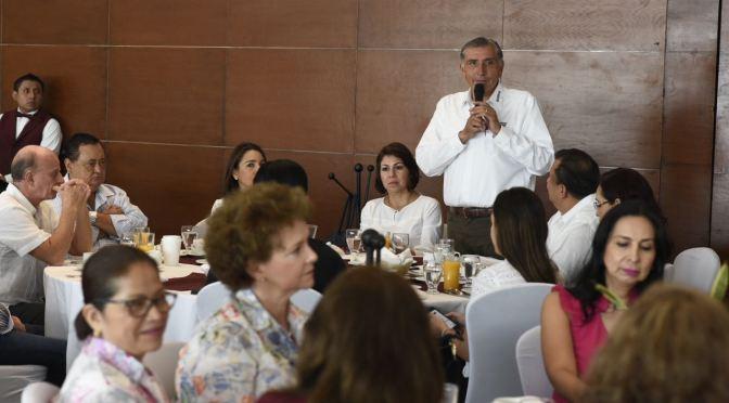 Fin a la corrupción en el sector salud: Adán Augusto