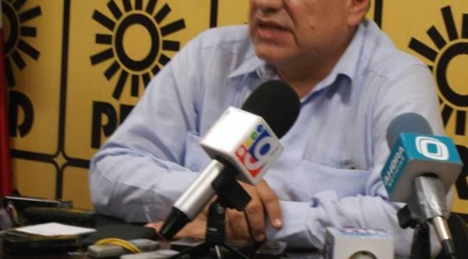 Ante violencia política en Tabasco, llama a la paz delegado nacional del PRD