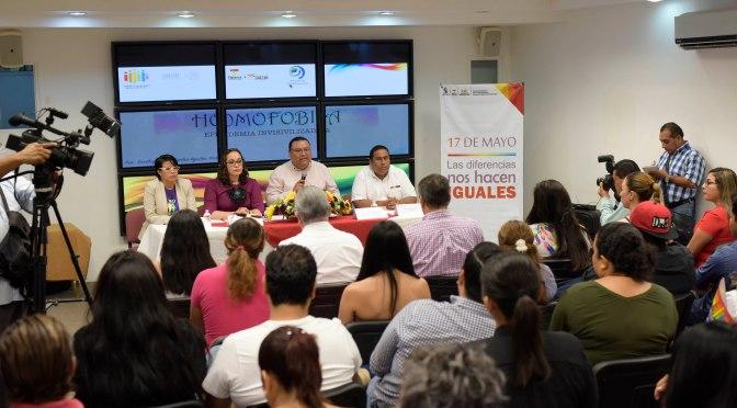 Conmemoran Día contra la Discriminación y Homofobia