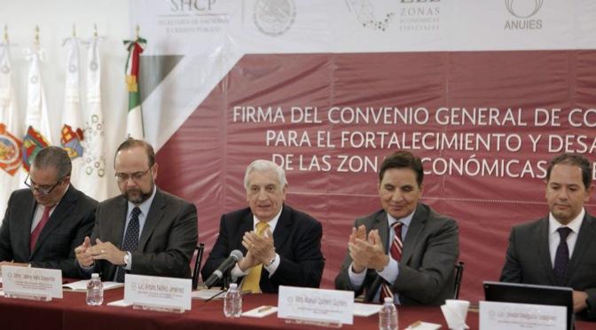 Contribuirá sector académico en fortalecimiento de las ZEE: Núñez