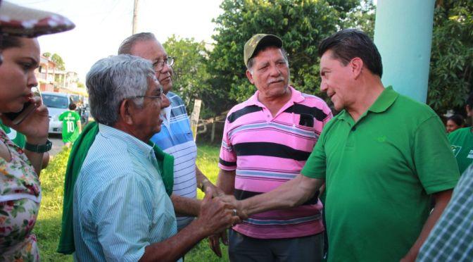 El cambio en Tabasco es verde: Oscar Cantón