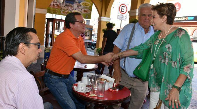 Vamos a cambiar inseguridad y desempleo por certidumbre y desarrollo: Ady García