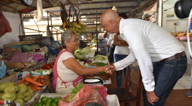 """""""Haremos de los mercados espacios dignos para todos"""": JMyT"""