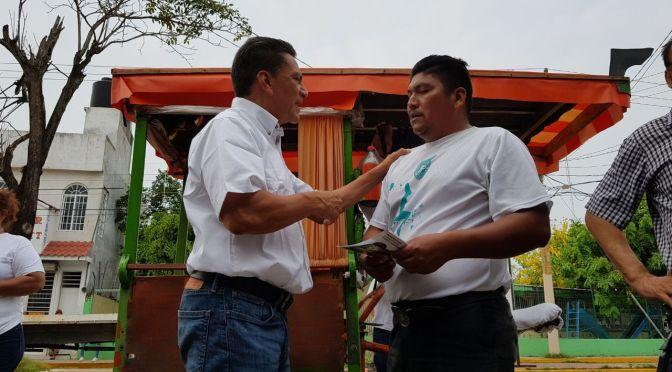 Experiencia, carácter y honestidad para sacar a Tabasco adelante:Oscar Cantón
