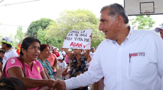 Llama Adán a la reconciliación y unidad de tabasqueños