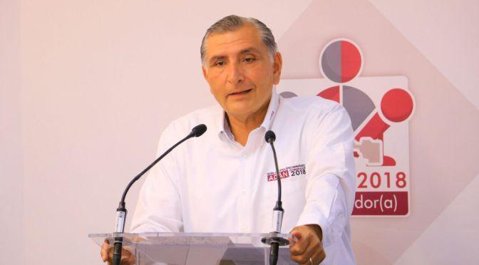 En debate, convoca Adán Augusto López a reconciliación de tabasqueños