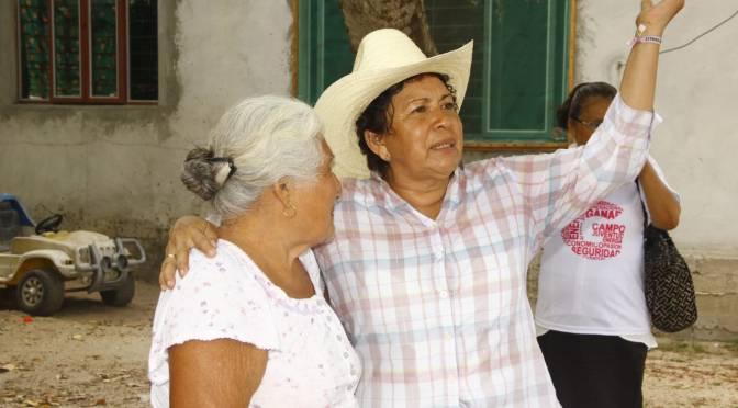 Será Anita Castellanos primer alcaldesa de Paraíso