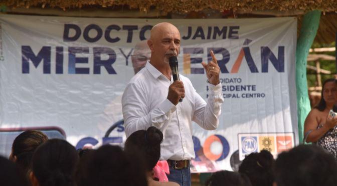 """""""El presupuesto del municipio de Centro se ejercerá con planeación"""": Jaime Mier y Terán"""