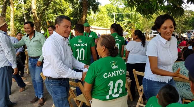 El Verde es la opción: Cantón