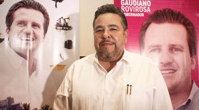 Gaudiano será un gestor permanente  para Tabasco: Héctor Dagdug
