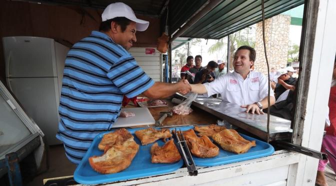 El mejor debate es con la gente, atendiendo sus necesidades, y de ahí viene mi propuesta de gobierno: Gaudiano