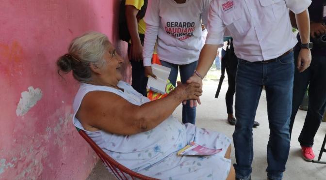 Trabajaremos para que todo Tabasco sea más seguro, afirma Gerardo Gaudiano