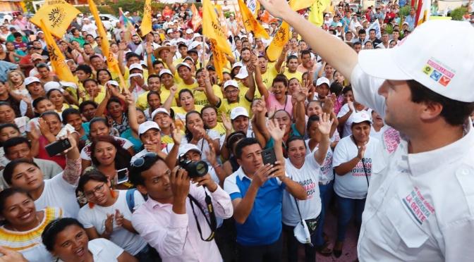 El municipio de Paraíso será un polo de desarrollo, asegura Gerardo Gaudiano