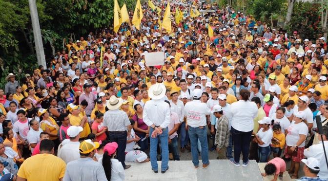 En Huimanguillo estamos donde nos necesita la gente: Gerardo Gaudiano