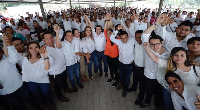 Los problemas de Tabasco se resuelven en Tabasco y le toca a los jóvenes participar: Gerardo Gaudiano