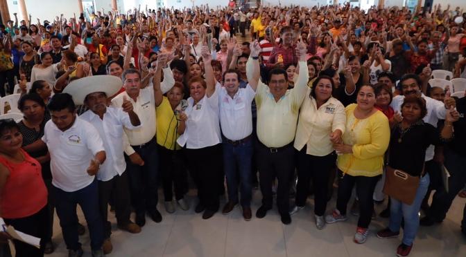 Propone Gerardo Gaudiano impulsar el desarrollo de todo Tabasco
