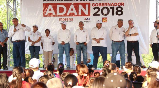 Destaca Adán fidelidad de macuspanenses