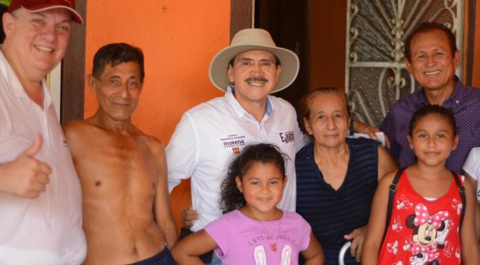 Se compromete Evaristo a rescatar a productores de Centro