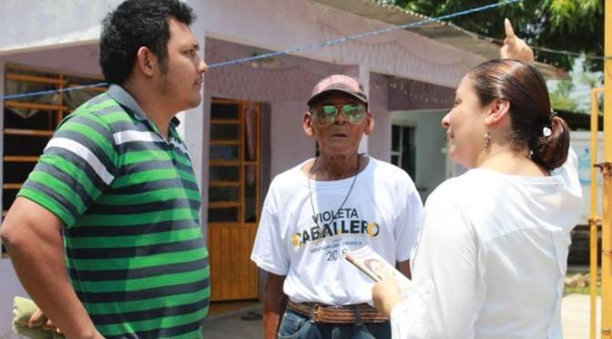 El apoyo que me dan, me motiva a redoblar esfuerzos: Violeta Caballero Potenciano