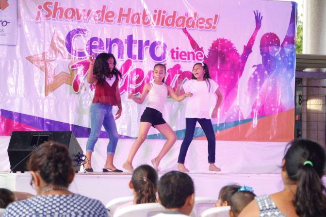 Niños de ranchería Río Tinto demuestran grandes habilidades en Centro tiene Talento