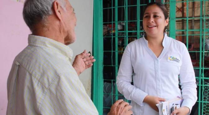 Tenemos las mejores propuestas: Violeta Caballero